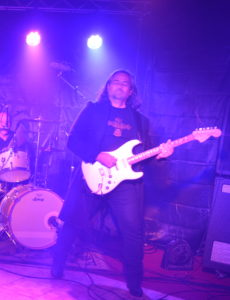 Personnel, Deep Purple / Rainbow Tribute, Perfect Strangers Rising's Gudio Cossio on guitar