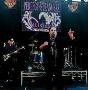 Deep Purple/Rainbow Tribute, Perfect Strangers Rising's George Galvez